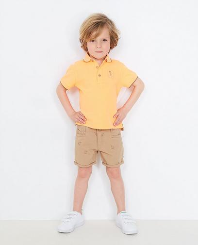 Fluo-oranje polo